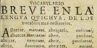 Para Qué Un Alfabeto Quichua En Quichua Revista Trazos